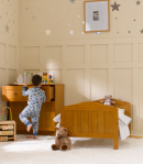 Mothercare Darlington toddler bed/pannelled nursery