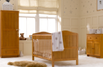 Mothercare Darlington Cotbed/Panelled nursery