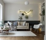 Marl sofa