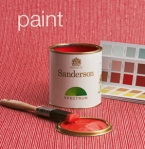 Sanderson paint advertisement
