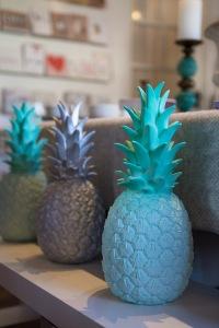 Pineapple lights, The Corner Shop