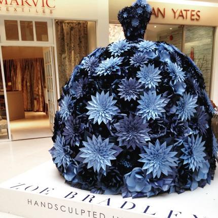 Zoe Bradley dress, Chelsea Design Centre