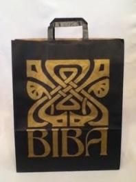 Vintage Biba paper bag, Pinterest