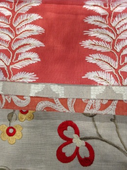 Langdale fabric collection, G P & J Baker