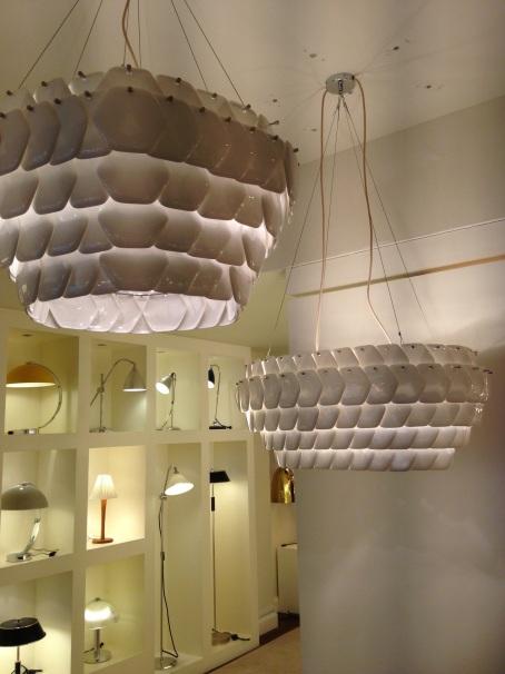Cranton pendents, Original BTC lighting