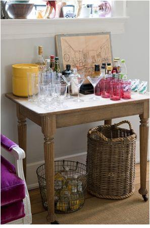 Rita konig drinks table drinks blog