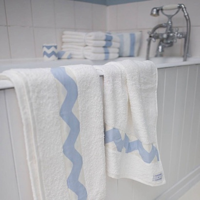Zig Zag towel, Tonder and Tonder at Notonthehighstreet.com