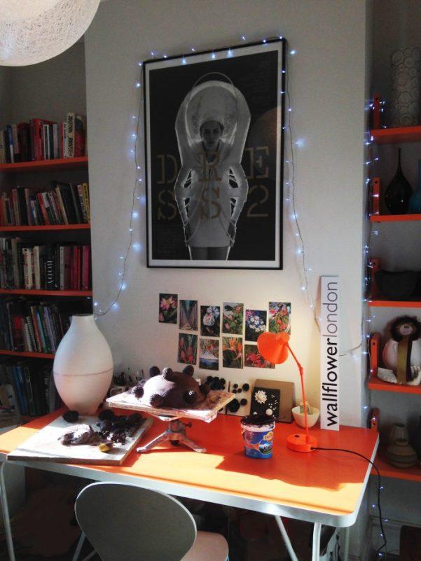 Vanessa Hogge's 'living room' studio