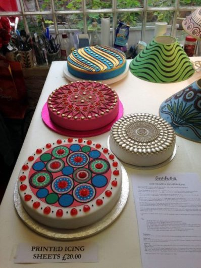 Cressida Bell's open studio: Cakes - agentofstyle.com