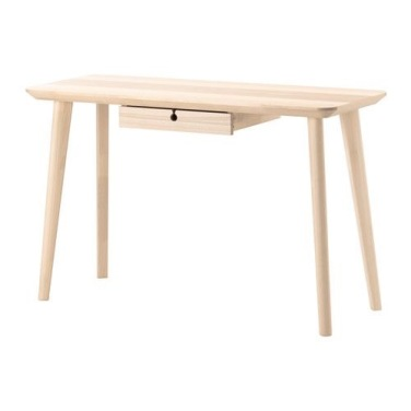 Lisabo Desk, IKEA - Charis White blog