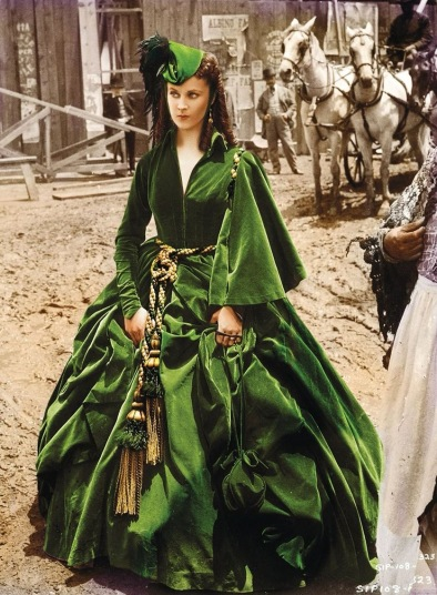 Vivien Leigh as Scarlet O Hara, Gone With The Wind 1939. Pinterest.