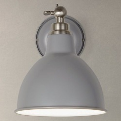 Aiden wall light, £50, John Lewis
