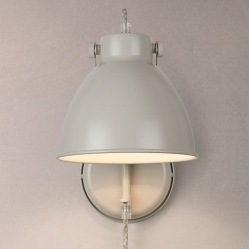Norton wall light, £45, John Lewis