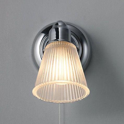 Lucca Bathroom light, £20, John Lewis
