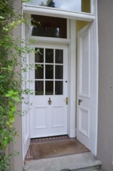 Storm Door of detatched house for sale in Helesnburgh, through Rightmove with Clyde Property