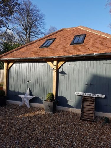 Vintage Barn Interiors design studio/showroom exterior