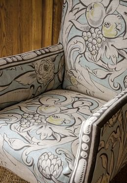 Bacchus fabric by Melissa White for Lewis & Wood/Charis White blog