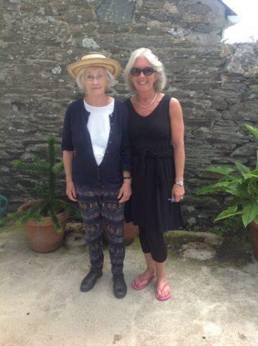 Patricia Saville-Smith and Helen Worton. Photo and blog: Charis White