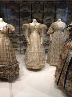Regency dresses Museum of Fashion, Bath. Photo/blog: Charis White