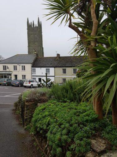 Village shot. John and Helen Worton's Cornish home. Photo and blog: Charis White