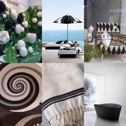Charis White Interiors Blog Collage: Dark Decorating: Vanessa Hogg, Ralph  Lauren, Designers