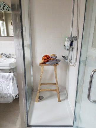 My shower cubicle! Photo: Charis White