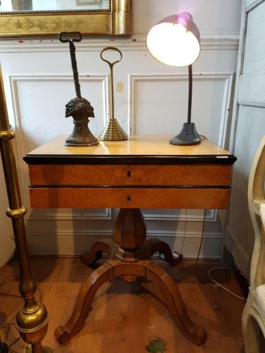 19th Century Biedermeier desk at Gear Antiques/Styling with Antiques on Charis White blog