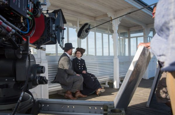 Matthew Macfadyen and Hayley Atwell in Howards End: Interview with Tanya Bowd set designer for Charis White interiors blog