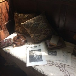 Props used by Tanya Bowd for BBC1s Howards End. Charis White interiors blog