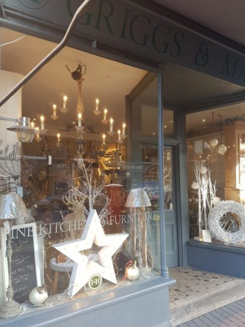 Griggs & Mackay kitchen shop, Caversham on Charis White stylist Christmas Gift Guide