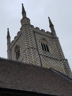 St Mary's Church, Reading. Photo/Blog on Jelly: Charis White stylist