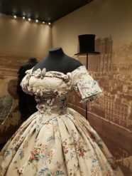 Ball gown from V&A Opera exhibition/Charis White interiors blog
