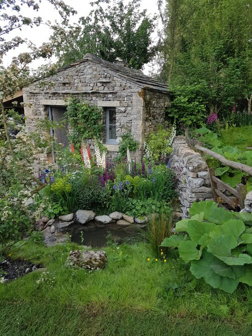 Yorkshire Garden by Mark Gregory at RHS Chelsea Flower Show 2018 on Charis White Interiors blog