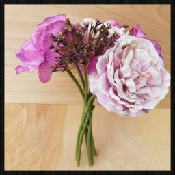 Faux bouquet of flowers for sale at Charis White Interiors online shop
