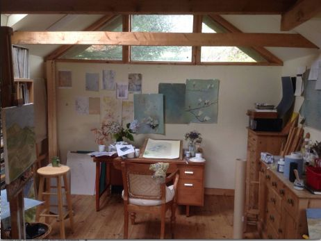 Flora Roberts Dorset Studio Interior