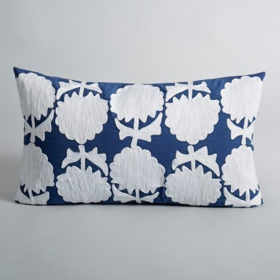 La Redoute Edrea embroidered cushion