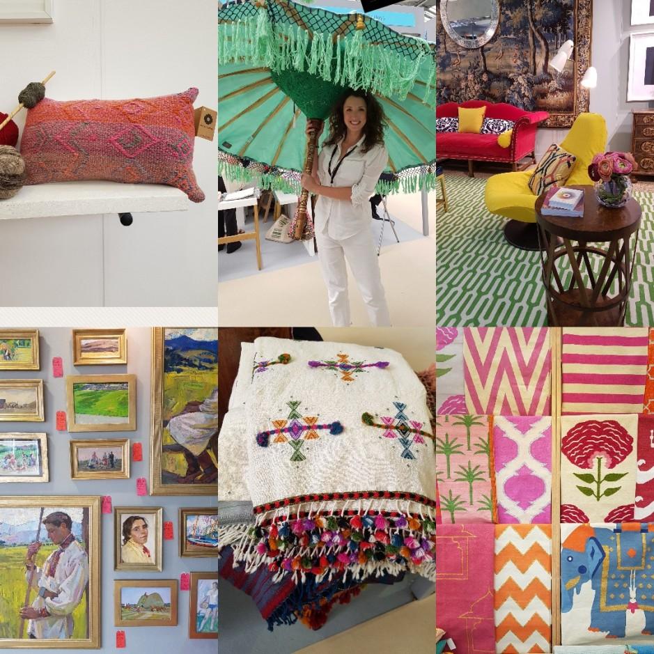Collage for House & Garden Festival 2018 on Charis White Interiors blog