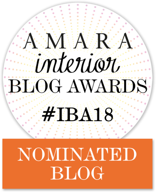 Amara interior blog awards nominated blog 2018