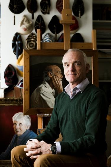 Mark Draisey portrait by Eva Nemeth on Charis White Interiors blog