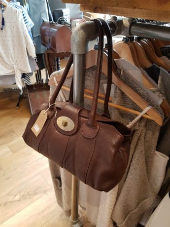 Handbag at The Boutique charity shop Watlington on Charis White Interiors blog