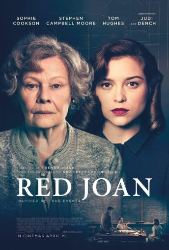 Red Joan film poster on Charis White Interiors blog