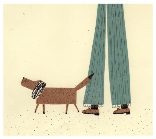 sunday morning dog walk