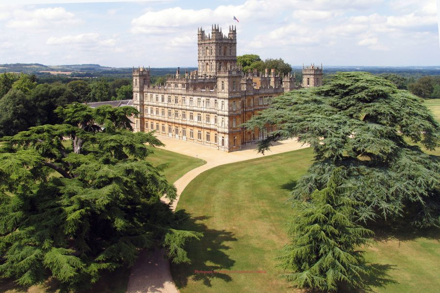 Highclere Castle on Charis White Interiors blog re Downton Abbey Film/The English Home magazine