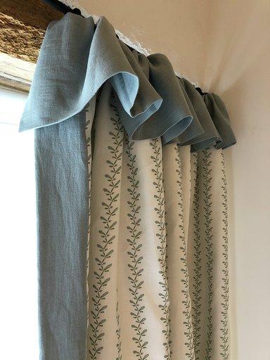 Pippa Black Interiors curtains 1