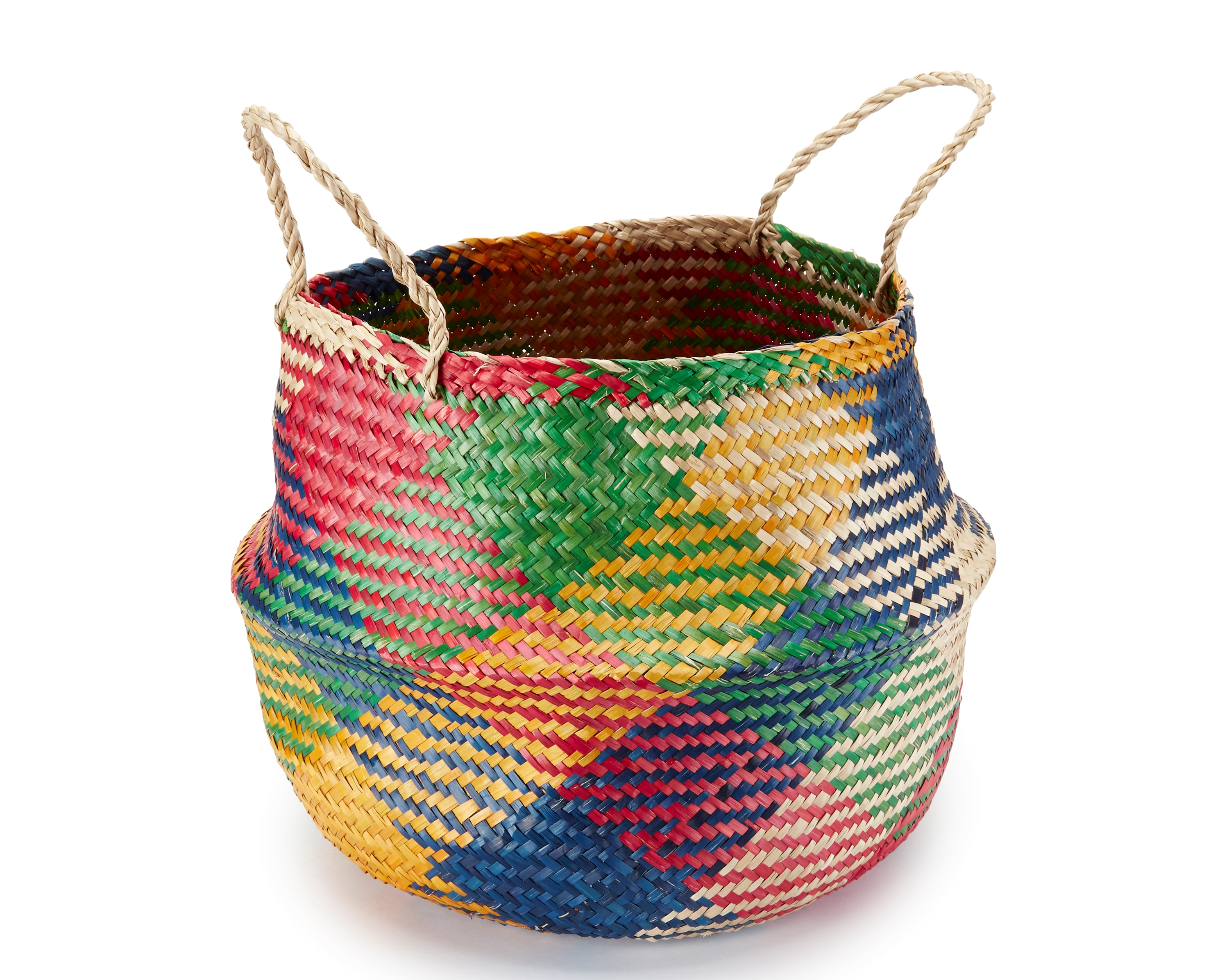 Handwoven Seagrass Basket, £19.99 from Oxfam