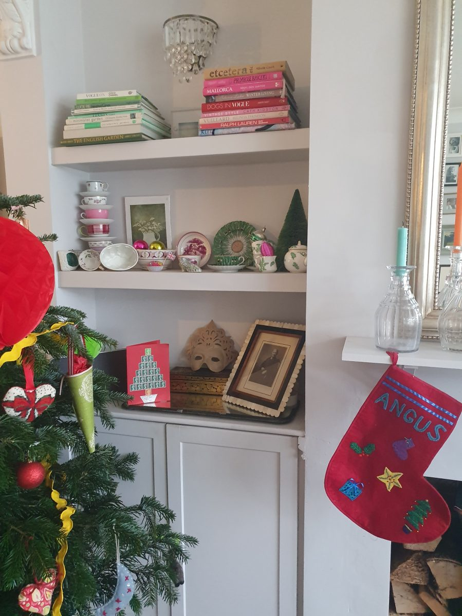 Homemade Christmas for Saga magazine on Charis White Interiors blog